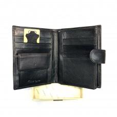 Портмоне мужское из натуральной кожи GO-01220 в упаковке