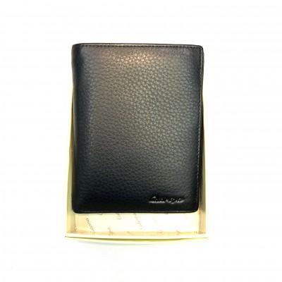 Портмоне мужское из натуральной кожи GO-01220-3 в упаковке